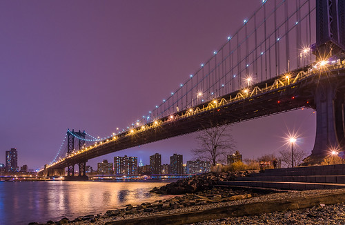 park wood bridge autumn trees two newyork reflection ferry brooklyn night stairs buildings river stars lights leaf rocks waves purple pentax stones manhattan bridges east empire manhattanbridge fulton foreground k5 greatphotographers da15ltd smcpda15mmf40edal pentaxflickraward