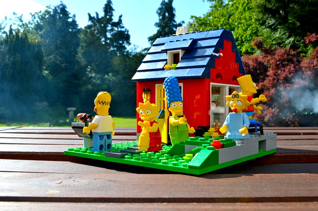 Simpson's holiday home
