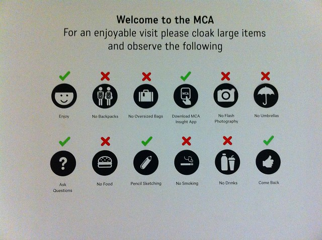 Museum of Contemporary Art, Sydney - what to do and what not to do