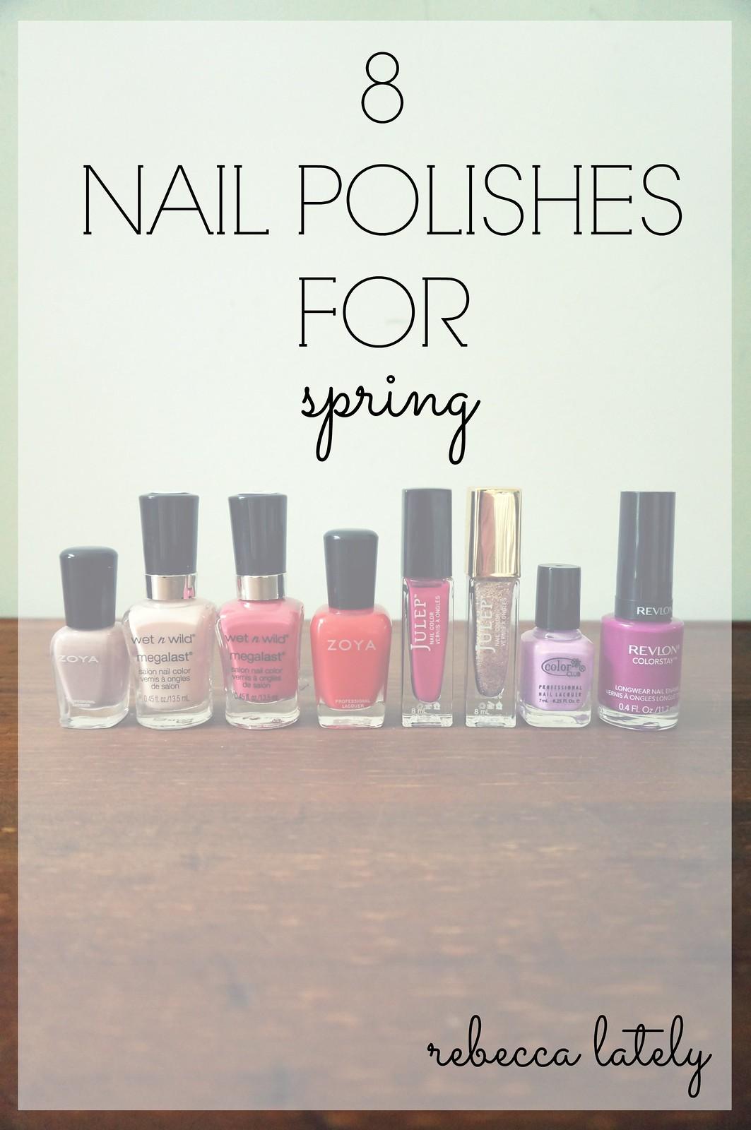Spring Nail Polishes 1