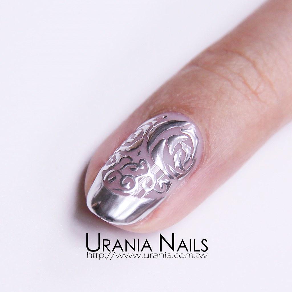 鏡面金屬光療指甲