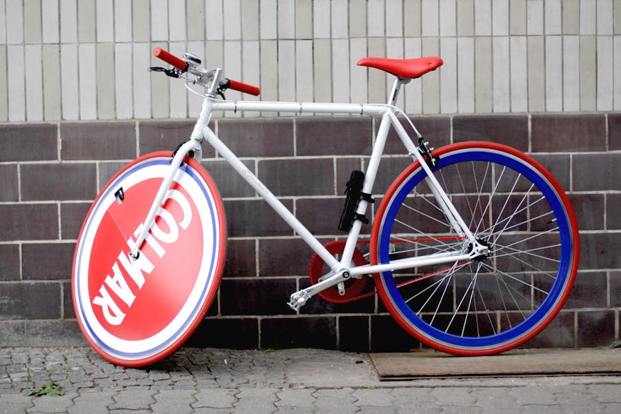 Colmar Originals Store Opening in Berlin Mitte 14.05.14 blogger Ricarda Schernus bike bicycle 6