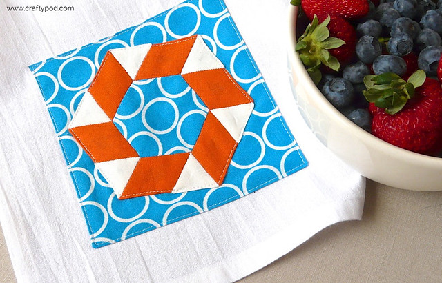EPP Pool Party Tea Towel Tutorial