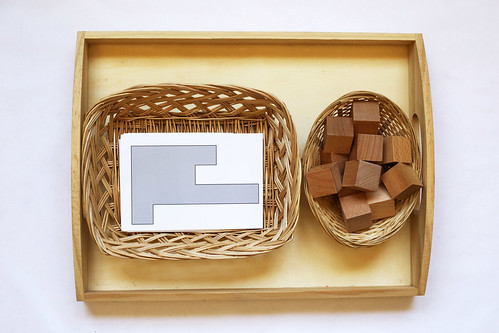 Shape Puzzle Tray