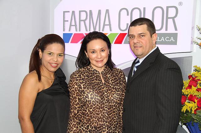 Maryam Gonzalez, Raquel De Zarza y José Chacin