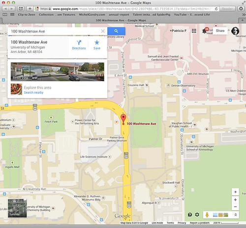 Google Map for Palmer Commons