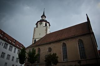 Stadtkirche, Waldenbuch, BaW�. Foto: Stephan Benz