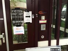 Utrecht escape room entrance