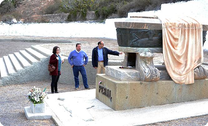Plantean recuperar el jardín modernista del cementerio de Los Remedios