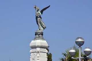 Bilde av Monument du Centenaire nær Nice. hbarrison harveybarrison france nice