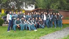 Visita de alumnos del Liceo Bosque Nativo de Puerto Varas a Sitio Paleontológico Pilauco #Osorno