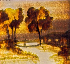 ©Autumn County Colors painted by Iris Sun by Iris Sun  www.irisunart.com