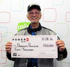 Douglas Paulson - $50,000 Powerball