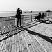 photos of people taking photos of people in lines and shadows by brucenmurray