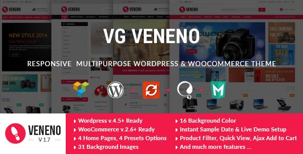VG Veneno v1.7 - Multipurpose WooCommerce Theme