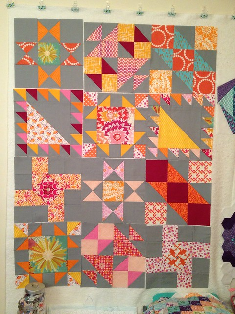 Sisters Ten BOM June blocks!
