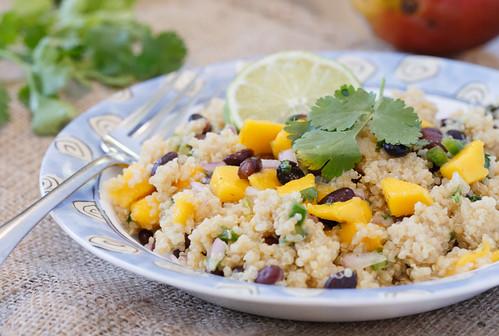 healthy summer quinoa salad