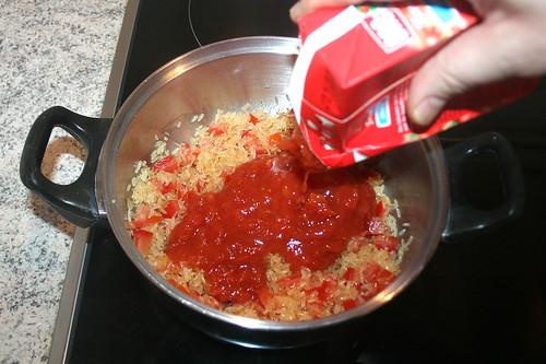 45 - Tomatenstücke hinzufügen / Add tomato pieces