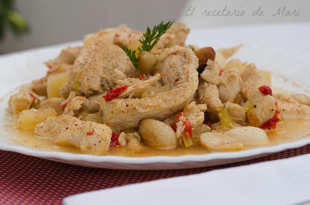 pollo salteado con piña (1)