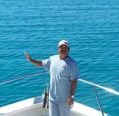 Edgar Cesena Capitan de embarcacion