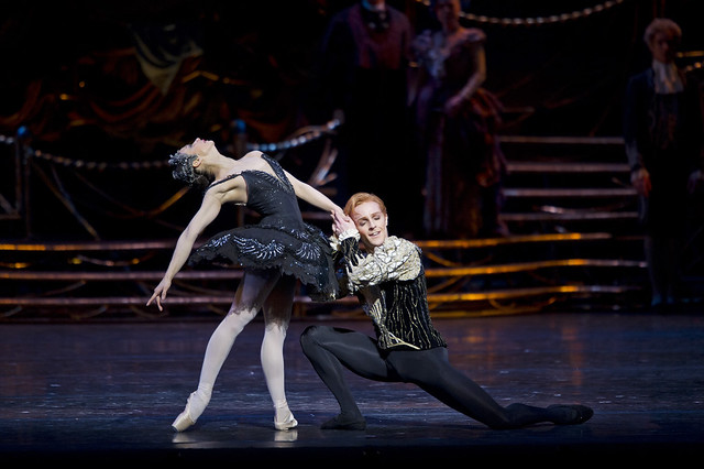 Roberta Marquez as Odile and Steven McRae as Prince Siegfried in Swan Lake © ROH / Bill Cooper 2011