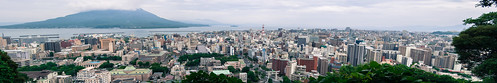 street city summer urban panorama building june japan landscape downtown cityscape view angle wide kagoshima filter stitching urbanscape lightroom 2013 kagoshimaprefecture daniellih
