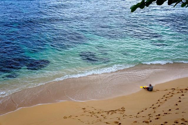 Scot snorkeling Hideaways Beach - 01