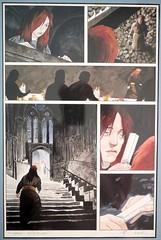 Scott Hampton page from Destiny miniseries by Karon