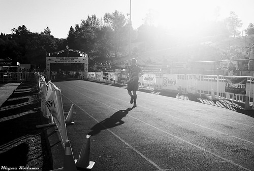 Western States 100 Finish Line by Wayne-K