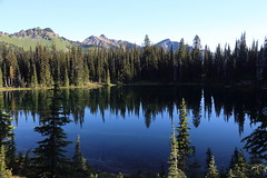 Palisades Lake Hike, Mt Rainier National Park