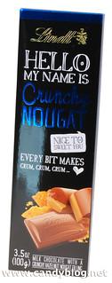 Lindt Hello Crunchy Nougat