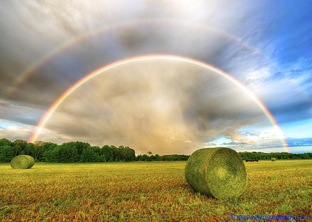 Double Rainbow in Door County - Mark II
