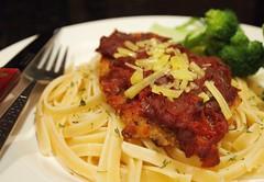 Chicken Parmigiana/ Chicken parmesan