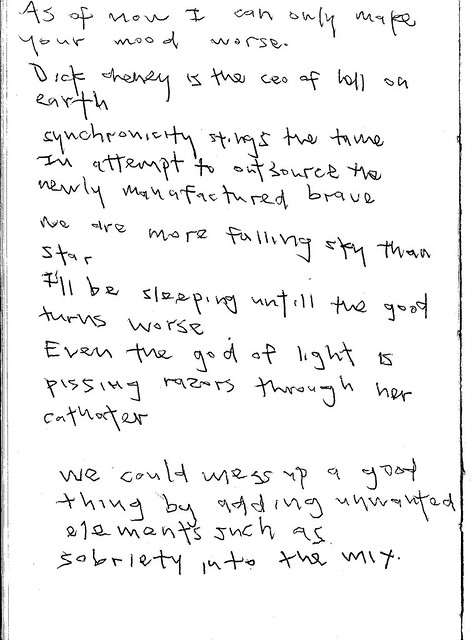 Examples of Micheal's Handwriting – The Official Website of