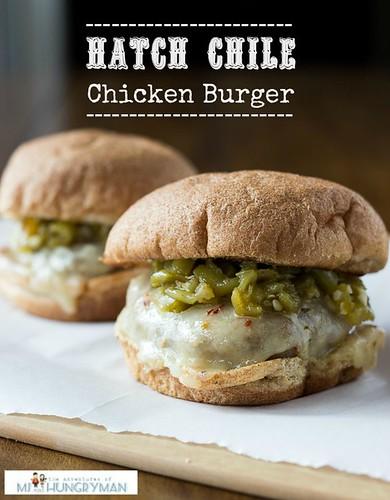 Hatch Chile Chicken Burger
