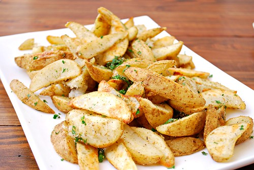 Rosemary Garlic Truffle Fries