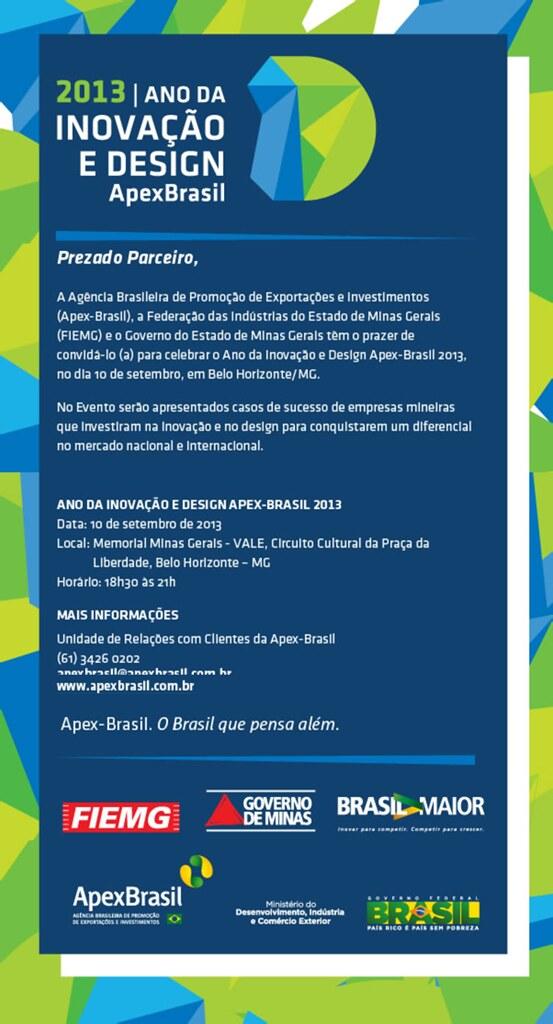Ano da Inovação e Design APEX-Brasil