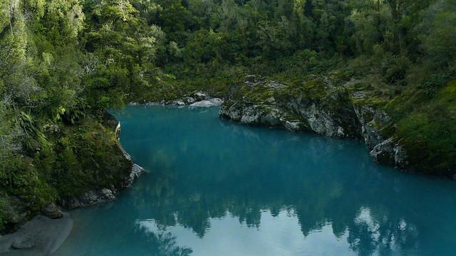 Glimpse Of A Glacial River - The Hokitika Gorge