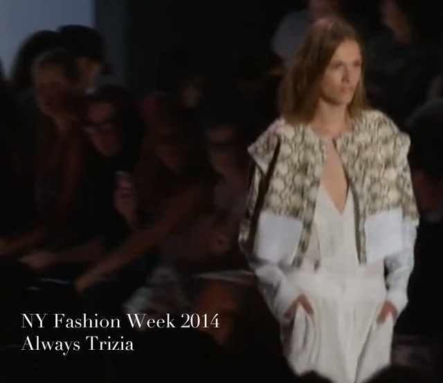 NY Fashion Week 2014 Always Trizia066