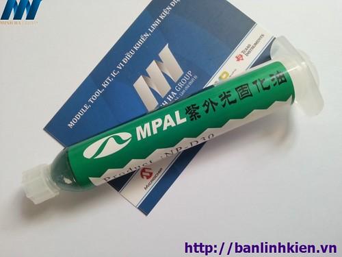 Tip Phủ Mạch UV Màu Xanh Lá