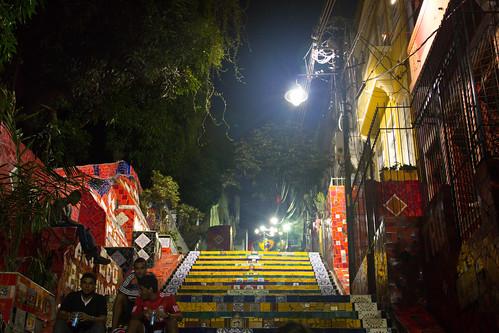 Lapa Selaron Staircase, Rio de Janeiro, Brazil