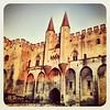 La casita de los papas en Avignon