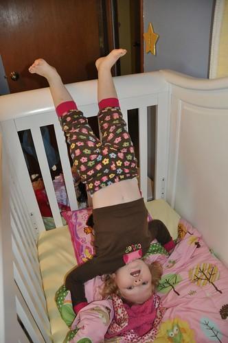 Crib Headstand