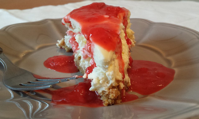 Strawberry + Coconut Mascarpone Cheesecake - My Mother's Love