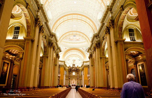 Inside Cathédrale Marie-Reine-du-Monde