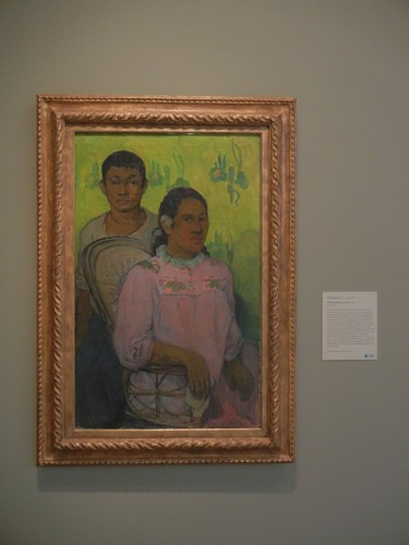 DSCN7768 _ Tahitian Woman and Boy, 1899,  Paul Gauguin (1848-1903), Norton Simon Museum, July 2013