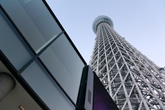 World's tallest tower - the Sky Tree