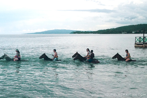 chukka horse ride and swim