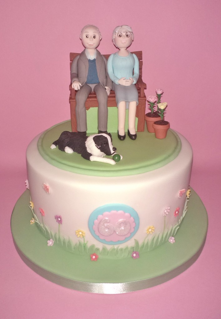 60th Wedding Anniversary Gifts For Friends: 60th Wedding Anniversary Cake