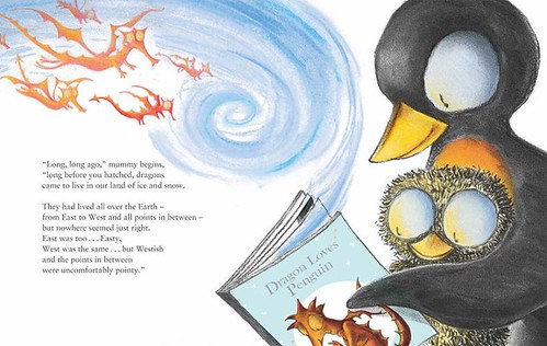 Debi Gliori, Dragon Loves Penguin